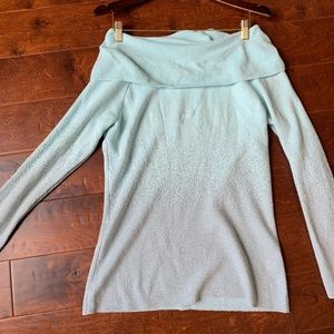New York and company off the shoulder sweater